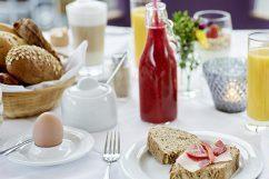 Zum Glück gibt´s Frühstück!