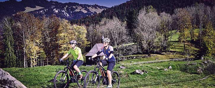 Geführte Bike Touren und Bike Verleih