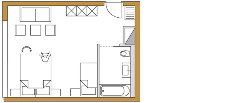 Junior Suite (ca. 40m²)